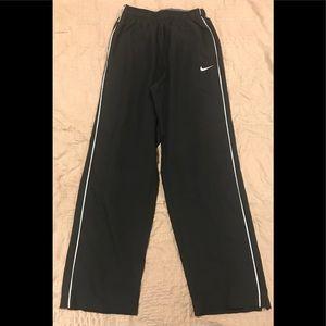 Nike Dri-Fit wide-leg sweats, Adult Small